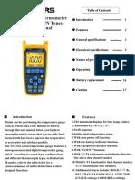 TM 747DU Manual