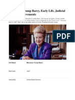 Maryanne Trump Barry, Early Life, Judicial Career, Achievements