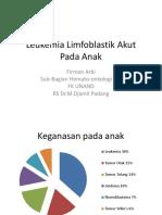 2.2.4.1 Leukemia Limfoblastik Akut