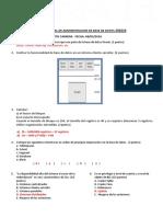 Examen Parcial SGBD 2016 - 1 Resuelto