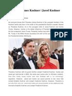 Theodore James Kushner | Jared Kushner Wedding