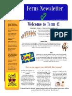ferns term 4 newsletter
