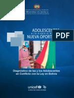 Min Justicia - Unicef - Diagnostico ACL Bolivia