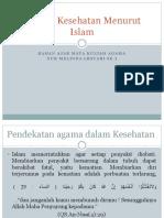 Konsep Kesehatan Menurut Islam