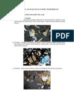 Batuan Beku Asam Petrografi