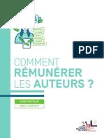 Guide Remuneration Auteurs
