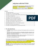 Các Khoản Thu Nhập Được Miễn Thuế TNDN