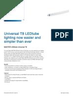 Catalogue LED T8
