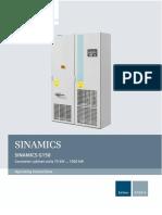 SINAMICS G150 Converter Cabinet Units en-US