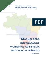 Manual Para Integracao Dos Municipios DENATRAN