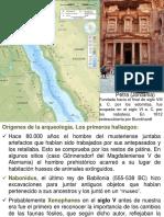 Historia de La Prehistoria Como Disciplina Cientifica