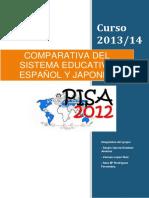 Comparativa Japón España