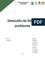 Detección de Problemas