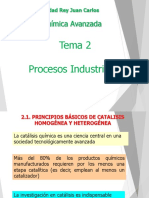 Bloque I - Tema 2 - Procesos Industriales