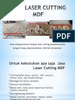 Jasa Laser Cutting Mdf Dengan Berbagai Pilihan