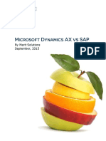 Dynamics AX vs SAP
