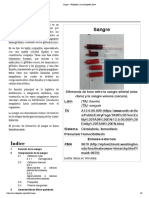 Sangre - Wikipedia, La Enciclopedia Libre