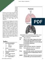 Pulmones - Wikipedia, La Enciclopedia Libre