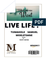 LIVE LIFE - TUMAHOLE MOELETSANE