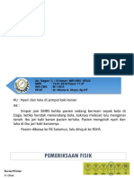 Fraktur Terbuka Lempeng Physeal Phalanx Distal Digiti I Pedis Dekstra Salter Harris Classification Type I
