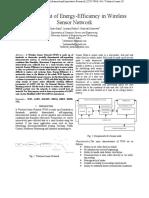 Enhancement of Energy-Efficiency in Wireless Sensor Network