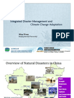 Integrated Disaster Management and Climate Change Adaptation