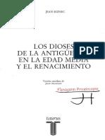300844685 Jean Seznec Los Dioses de La Antiguedad en La Edad Media y El Renacimiento