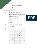 Answer Assignment1 econometrics