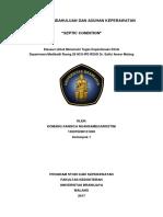 laporan pendahuluan sepsis