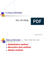 04 Recurrences