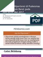 Gambaran Hipertensi Di Puskesmas Kediri Lombok Barat Pada