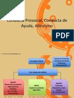 Conducta Prosocial