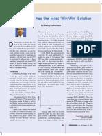 Article in Petrominer, Oct 2009