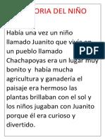 La Historia Del Niño Andino 34