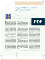 Article in Petrominer, August 2009