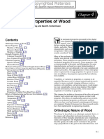 Mechanical Properties of Wood Usfs