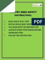 Pantry Instruction
