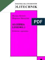 Algebra Liniowa 1 - Kolokwia i Egzaminy - Gewert Skoczylas