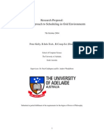 Research Proposal- A Unified Approach to Scheduling in Grid Environments
