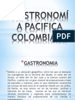 Gastronomía Pacifica
