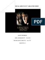 "THE PSYCHOLOGICAL ASPECTS OF ""A BEAUTIFUL MIND"""