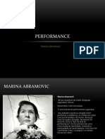 Trabalho de Historia Contemporanea - Marina Abramovic