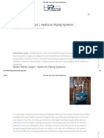 Boiler Water Loops _ HVAC Hydronic Piping Systems