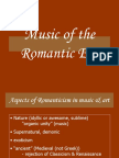 Romantic Music History