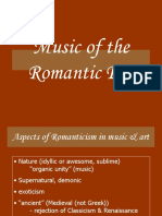 Romantic Music History