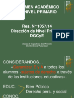 Regimen Academico Primaria
