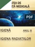 Igiena Radiatiilor Curs 1