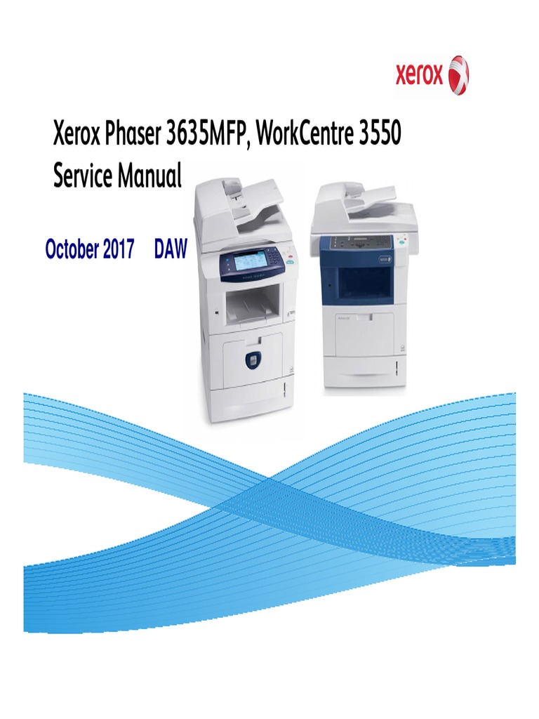 phaser 3635mfp workcentre 3550 service manual electrostatic rh es scribd com Tektronix Digital Oscilloscope Tektronix Analog Oscilloscope