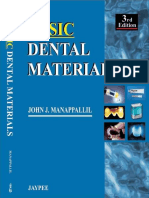 Basic Dental Materials 3rd