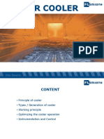Cement Cooler Process